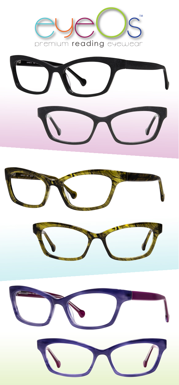 eyeOs (Gwyneth) in varying colorations