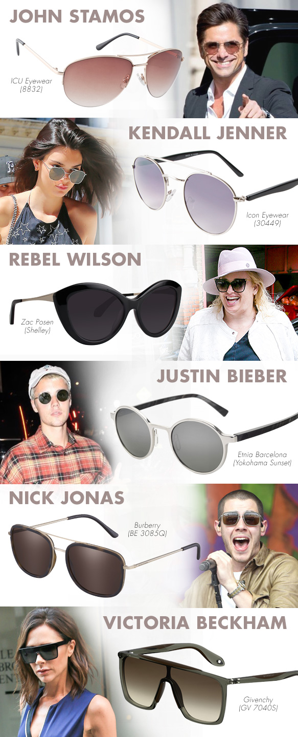 Best Sunglasses For Your Face  play copy cat in celebrity look alike shades best sunglasses for