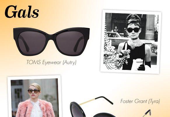TOMS Eyewear (Autry), Foster Grant (Tyra)