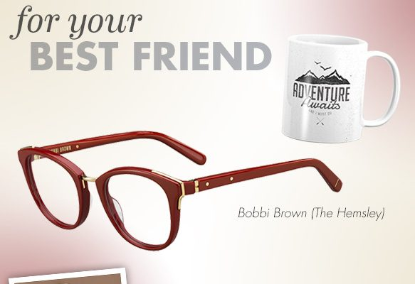 Bobbi Brown (The Hemsley), Cole Haan (CH6012), Sate Optical Co. (Wolcott), TOMS Eyewear (Jarrett)
